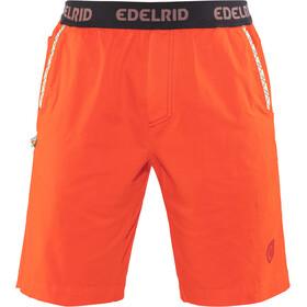 Edelrid Legacy II Miehet Lyhyet housut , oranssi